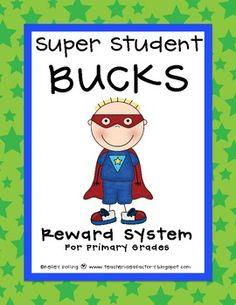 Super Student Bucks: Classroom Reward/Management System