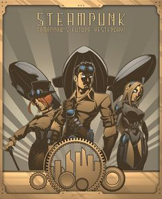 GCG Studios Steampunk Art- The Furnace