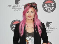 pink hair luv it!!