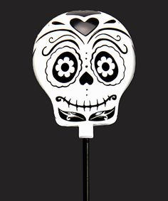 Sugar Skull Solar Light