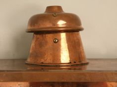 Restored Pair of Original Antique English Copper Wall Lanterns | From a unique collection of antique and modern wall lights and sconces at http://www.1stdibs.com/furniture/lighting/sconces-wall-lights/