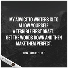 What's your advice for aspiring writers? #AskTheAuthor #LisaScottoline #writing