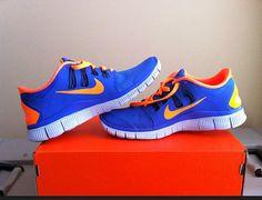 My new Nike Free Run 5.0. Bring on the running!! #Nike #run #Shoes