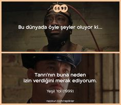 Yeşil Yol ayse Film Quotes, Book Quotes, Words Quotes, Sayings, John Coffey, Film Movie, Movies, Movie Lines, Writing Quotes