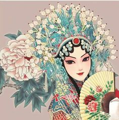Manga Art, Anime Art, Anime Kimono, Chinese Opera, Japanese Characters, China Art, Zen Art, Chinese Painting, Figure Painting