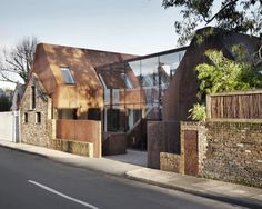 Kew House, RIBA House of the Year? Amazing dappled light from ingenious cut outs in this house.