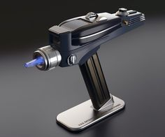 These are the escapades of the Star Trek: Original Series Phaser Universal Remote Control. Its mission: to explore strange new channels, to seek out old Star Trek reruns and appalling new reality TV shows, to boldly watch what no man has watched before. Star Trek Phaser, Yellow Octopus, Ipod Dock, Star Trek Original Series, Universal Remote Control, Tv Remote Controls, Reality Tv Shows, Cool Gadgets, Geek Gadgets