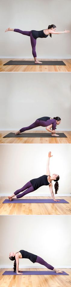 If doing more yoga is a goal of your, but you're a little nervous to take a class, this sequence is designed with you in mind. #yogasequence