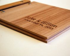 Hey, I found this really awesome Etsy listing at http://www.etsy.com/listing/156233990/custom-wedding-guest-book-album-wood