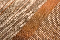 Handmade textile in plantain fiber and copper threads Contemporary Decorative Objects, Steel Curtain, Family Traditions, Drapery, Hand Weaving, Textiles, Fiber, Copper, Handmade