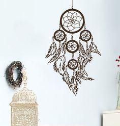 Wall Decals Dream Catcher Amulets Feathers Indian Pattern Yoga Decal Vinyl Sticker Home Decor Bedroom Interior Design Art Mural Dear Buyers,