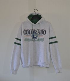 Retro Souvenir Hoodie with Pockets -- Glenwood Springs, Colorado -- Super Soft! by HandsomePeteShop on Etsy