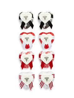 Heart Soaps (Set of 8)  $55