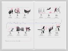 Becoming an Artist Mock-Manual - Book Design by Sára Ulrich, via Behance
