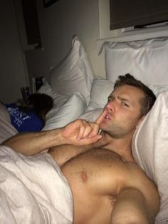 """jake2bb: """" homewreckernj: """" Put your head under the covers and blow my morning wood but be quiet about it and don't wake my sleeping wife! """" Yeah A little nervy, a little pervy. Follow at www.jake2bb.tumblr.com """""""