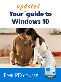 As the world of education continues to change and grow, Windows 10 devices help create flexible, personalized learning for all students. Dive into this updated professional development course to get started. Types Of Learners, New Classroom, Professional Development, Windows 10, Microsoft, Back To School, Students, Change, Education