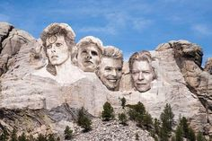 Bowie Rushmore.... :)