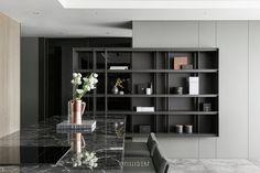 Living Room Modern, Home Living Room, Living Room Designs, Living Room Decor, Modern Home Interior Design, Home Office Design, Shelving Design, Cabinet Furniture, Cabinet Design