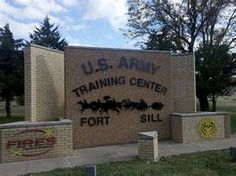Fort Sill, Oklahoma my baby sister graduated from there in early September (09-06-13). I am so proud of her! Army Strong!