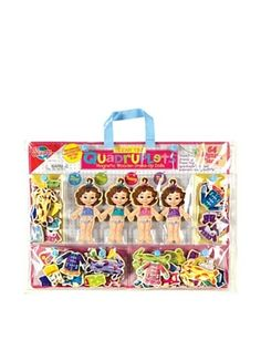 33% OFF T.S. Shure Teeny Tiny Quadruplets Magnetic Wooden Dress-Up Dolls