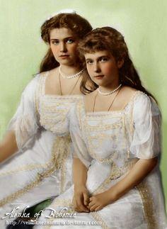 Marie and Anastasia,