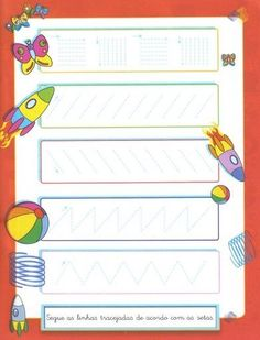 Crafts,Actvities and Worksheets for Preschool,Toddler and Kindergarten.Lots of worksheets and coloring pages. Tracing Worksheets, Kindergarten Worksheets, Zigzag Line, Ideas Habitaciones, Pre Writing, Fine Motor Skills, Solar System, Zig Zag, Wordpress Theme