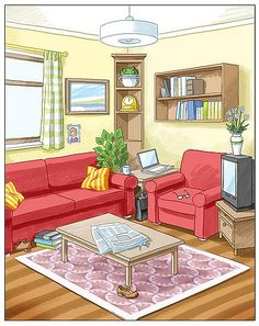 prepositions in the room Teaching French, Teaching Spanish, Teaching English, Teaching Kids, English Class, English Lessons, Casa Pop, Picture Comprehension, Paper Doll House