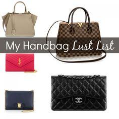 My Handbag Lust List - Her Heartland Soul