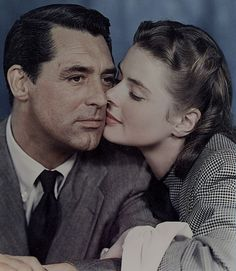 "Ingrid Bergman e Cary Grant - ""Notorious"", 1946"