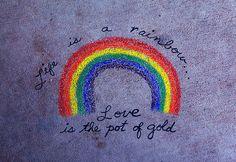 Awesome arco iris tumblr