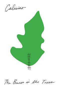 Italo Calvino, Baron in the Trees new design by Peter Mendelsund