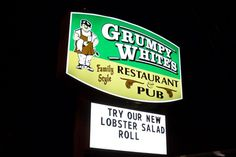 Hidden restaurant of the day: Grumpy White's, Quincy, MA. http://www.hiddenboston.com/GrumpyWhitesPhoto.html