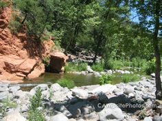Manzanita Campground on banks of Oak Creek near Sedona