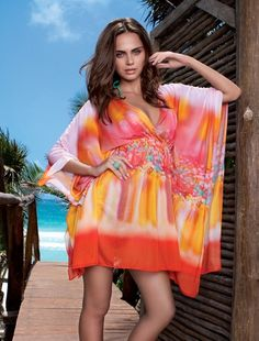 LULIFAMA:Fiesta De Flores kaftan dress. SHOP AT www.rosatocollections.com www.facebook.com/rosatocollectionsonline