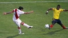 Colombia 0 Peru 2 aet in 2011 in Cordoba. Juan Vargas scored the crucial 2nd goal for Peru on 111 minutes in the Quarter Final at Copa America.