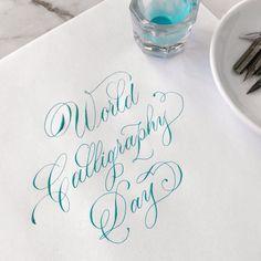 Modern Caligraphy, Flourish Calligraphy, Copperplate Calligraphy, Calligraphy Practice, How To Write Calligraphy, Calligraphy Handwriting, Calligraphy Alphabet, Calligraphy Letters, Penmanship