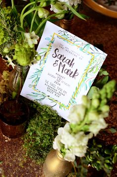I LOVE this shoot! The little details are divine… the cake, the mossy wreaths, the stationery – oh, that table plan!!!! for any of you lovely folks planning a b