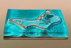 Coral Frontiers, Towards a Post-Military Landscape, Site Model Rosa Rogina