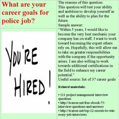 16 Best police cadet interview questions images in 2014