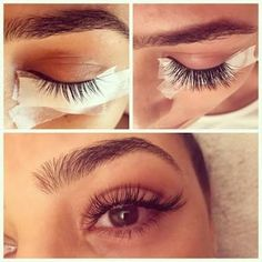 When done professionally eye lash extensions give you long lushes, beautiful lashes that look natural. Permanent Eyelash Extensions, Permanent Eyelashes, Eyelash Extensions Styles, Fake Eyelashes, Kylie Jenner Eyelash Extensions, Single Lash Extensions, Feather Eyelashes, Individual Eyelash Extensions, Makeup Goals