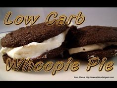 Atkins Diet Recipes: Low Carb Whoopie Pies (E-IF)