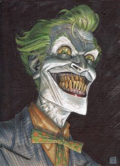 failed-mad-scientist: The Joker - Tony Moore - A Blog About.....Nothin'