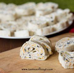 Mexican Tortilla Rollups - Tastes of Lizzy T's