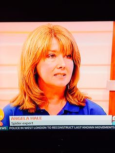Angela our spider expert on Good Morning Britain with Ben Shephard and Susanna Reid! Angela was explaining why there are so many of our eight legged friends around at the moment! She was fab! We are very proud of her! #tvfame #spiders #GMB