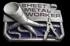 BELT BUCKLE SHEET METAL WORKERS TOOLS WORK TRADES PROFESSIONS SIGNS BELTS BUCKLE #CoolBuckles #Casual #sheetmetal #sheetmetalworker #beltbuckle