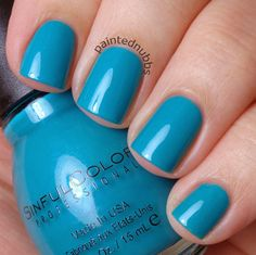 Painted Nubbs: Sinful Colors Professional Flirt With Hearts Collection Rise and Shine