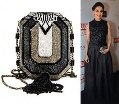 Trust you all loved Madhuri Dixit Nene's departure from her signature style at the Hello! Hall of Fame Awards. But the reason I'm writing in today is to bring to your attention the budding love affair between the Bollywood ladies and Judith Leiber minaudières. Seen here in Madhuri's clasp is the Judith Leiber 'NS Octagon' [...]