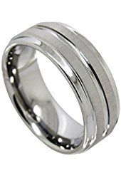 Genuine Tungsten Carbide and Cobalt Free, Nickle Bind(Stronger & Tougher Tungsten), Hypoallergenic & scratch resistant & Comfort Fit Design,Includes Free Elegant Jewelry box and bag for best presentation and protection of the ring. Perfect Gift for Christmas, Birthday, Anniversary, Wedding, Engagement, or Valentine's Day Gift. Mens Wedding Bands & Unisex Tungsten Wedding Band Top Quality Rings for Men and Women. Best gift for him, husband, dad, boyfriend & gift for her as well.