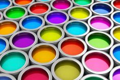 When we see color, we are seeing the specific wavelengths of light that are not absorbed by what we are looking at.