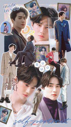 Kpop Exo, Exo K, Chanyeol, Kpop Posters, Exo Fan Art, Exo Lockscreen, K Wallpaper, Kpop Aesthetic, K Pop
